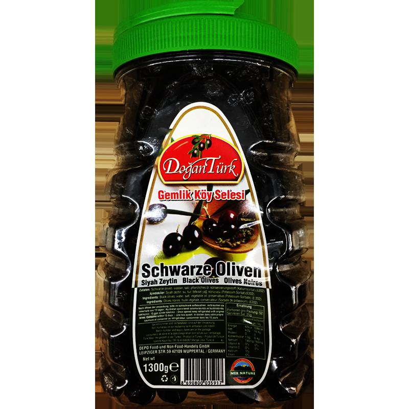 Dogantürk Schwarze Oliven